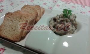 Paté de atum e feijão